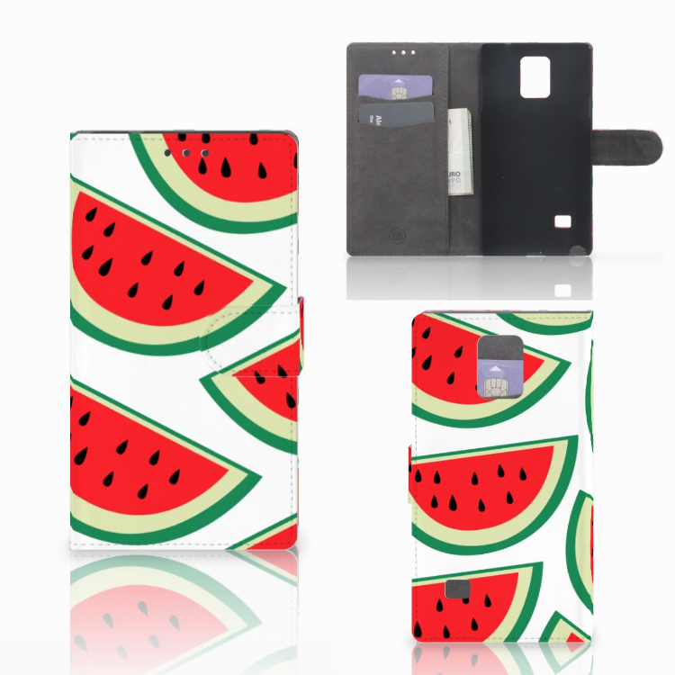 Samsung Galaxy Note 4 Book Cover Watermelons