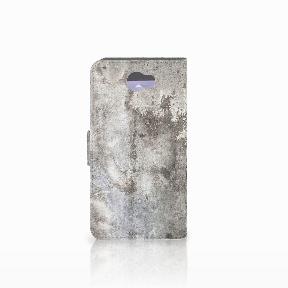 Huawei Y5 2   Y6 II Compact Bookcase Beton Print