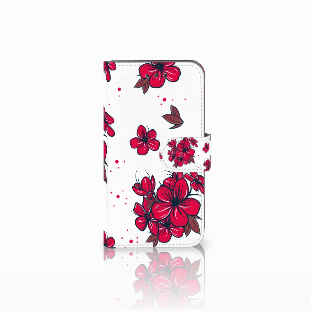Samsung Galaxy Xcover 3 | Xcover 3 VE Boekhoesje Design Blossom Red