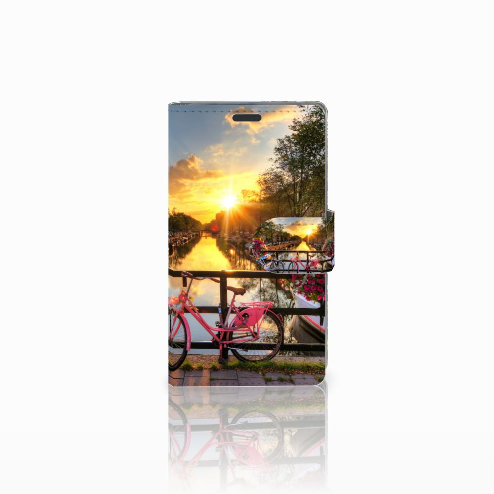 Nokia Lumia 625 Uniek Boekhoesje Amsterdamse Grachten