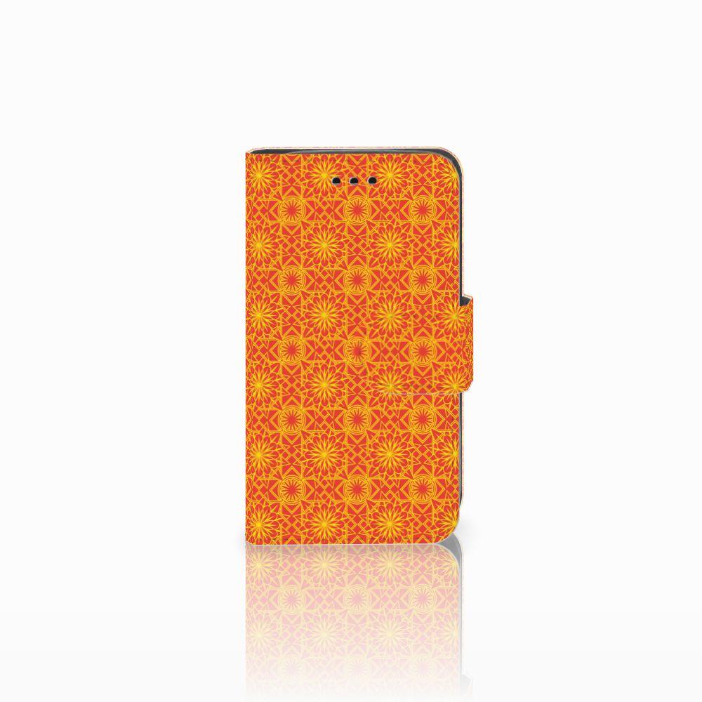 Samsung Galaxy Trend 2 Boekhoesje Design Batik Orange