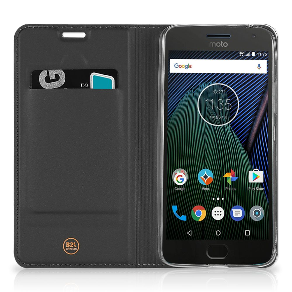 Motorola Moto G5 Plus Flip Style Cover Whiskey