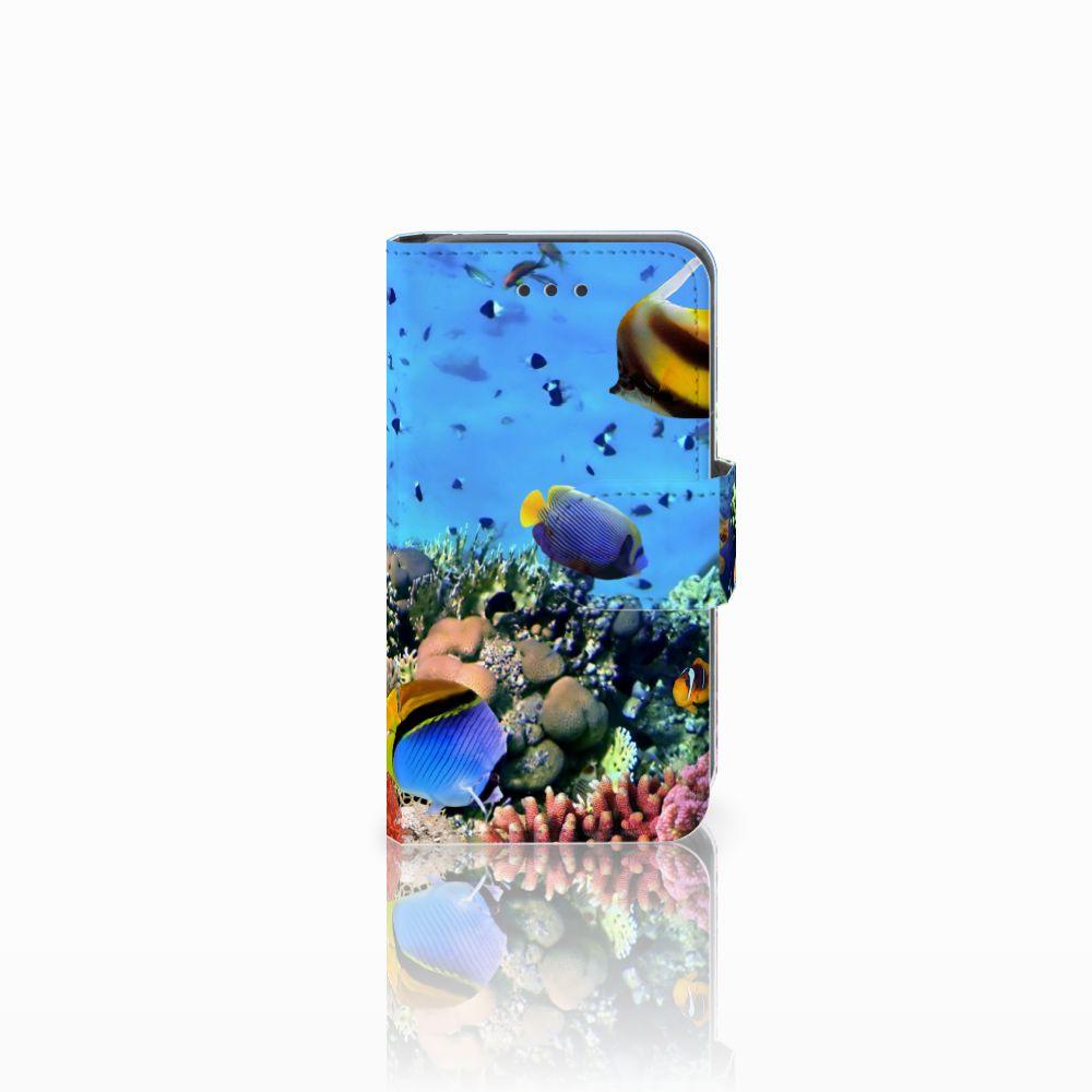 Nokia Lumia 530 Uniek Boekhoesje Opbergvakjes Vissen