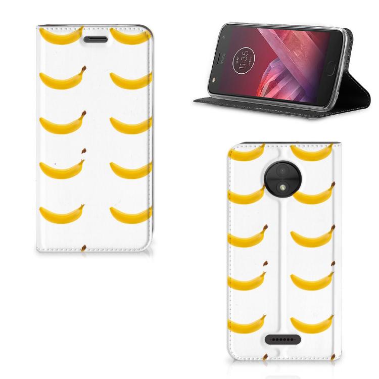 Motorola Moto C Flip Style Cover Banana