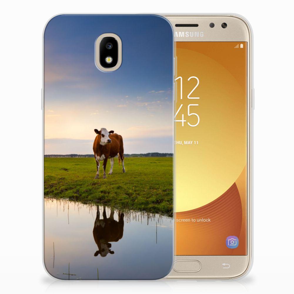 Samsung Galaxy J5 2017 TPU Hoesje Design Koe