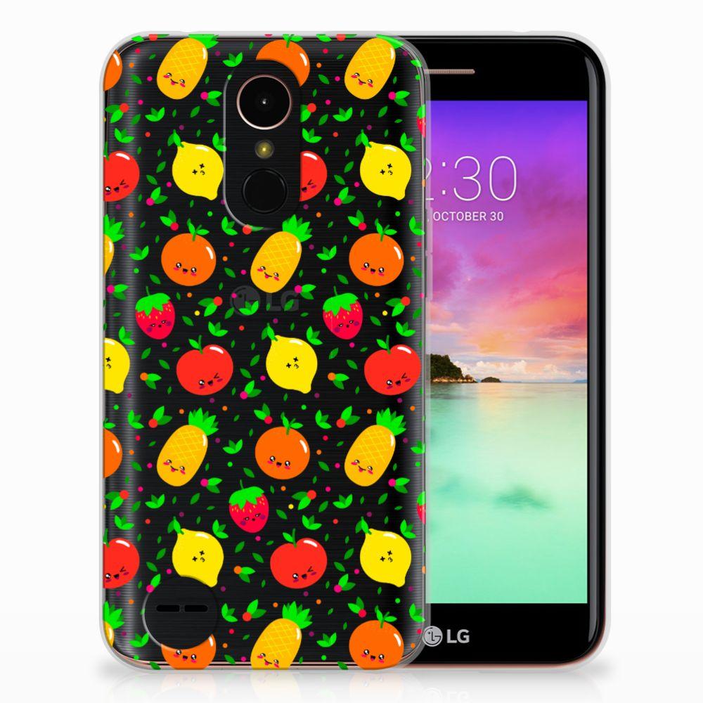 LG K10 2017 Siliconen Case Fruits