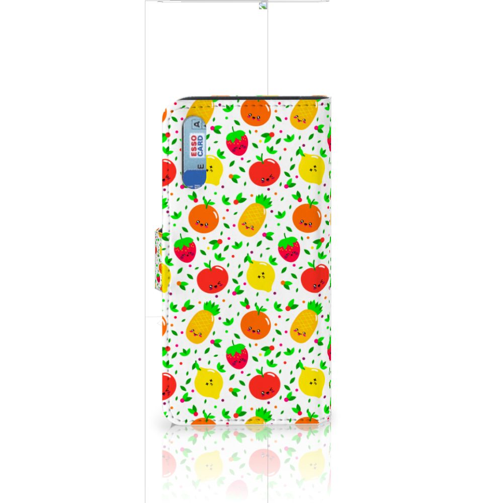 Huawei P20 Book Cover Fruits