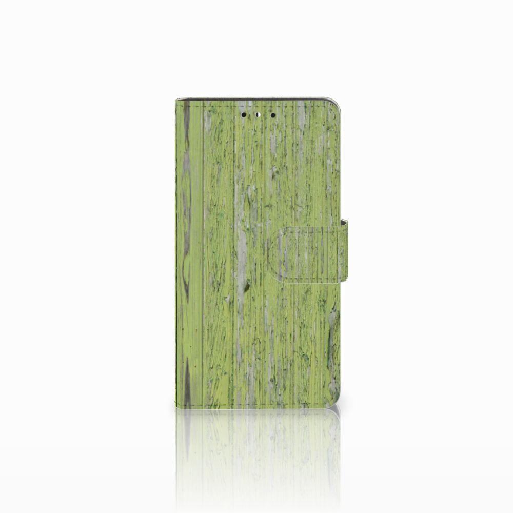 Huawei Y5 | Y6 2017 Boekhoesje Design Green Wood