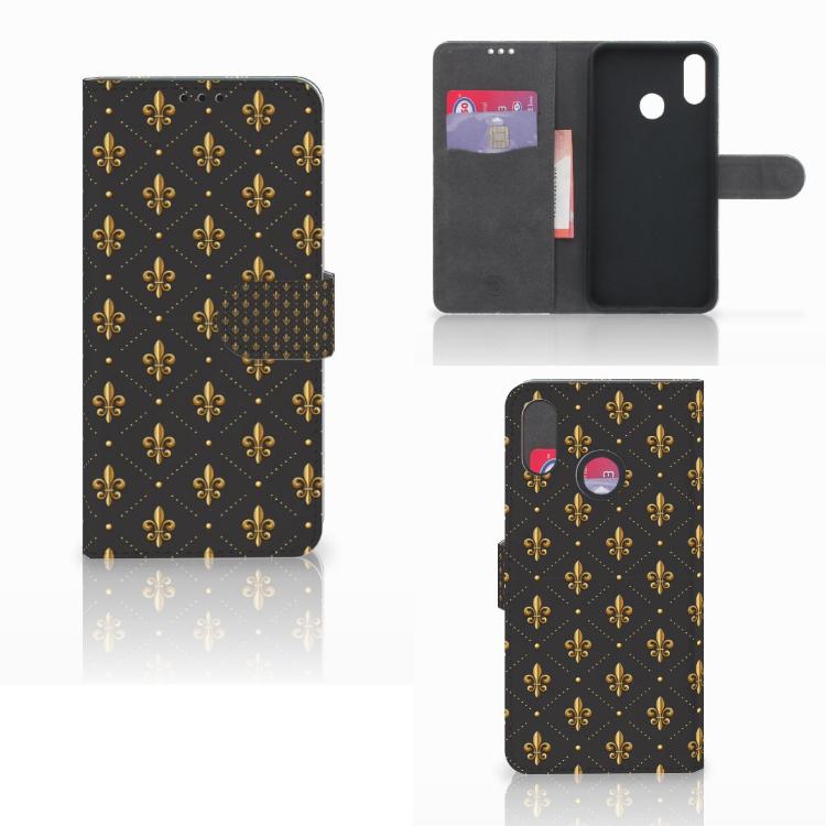 Huawei P Smart Plus Telefoon Hoesje Franse Lelie