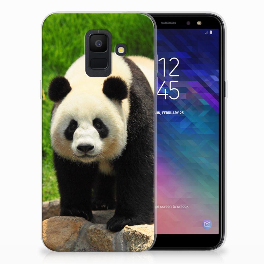 Samsung Galaxy A6 (2018) TPU Hoesje Design Panda