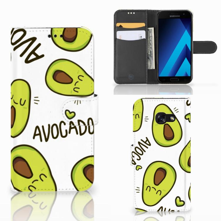 Samsung Galaxy A5 2017 Leuk Hoesje Avocado Singing