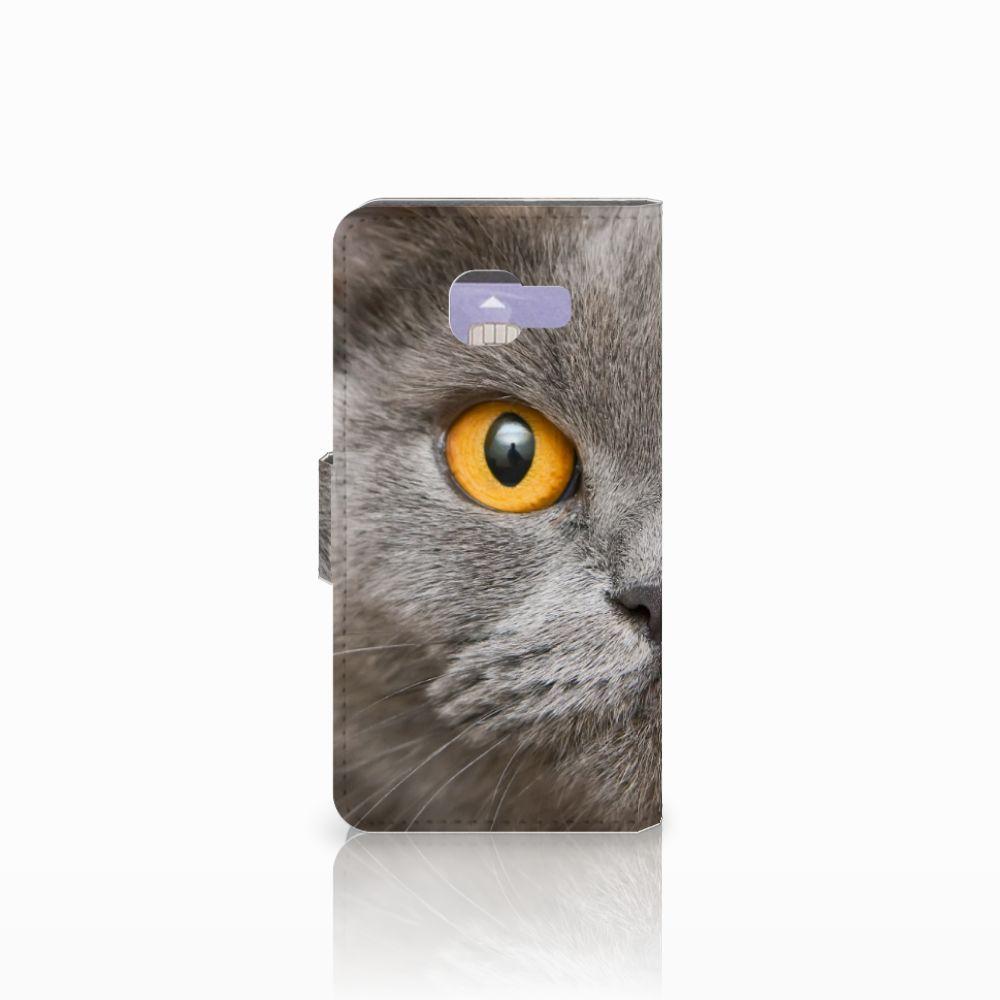 Telefoonhoesje met Pasjes Samsung Galaxy A3 2016 Britse Korthaar