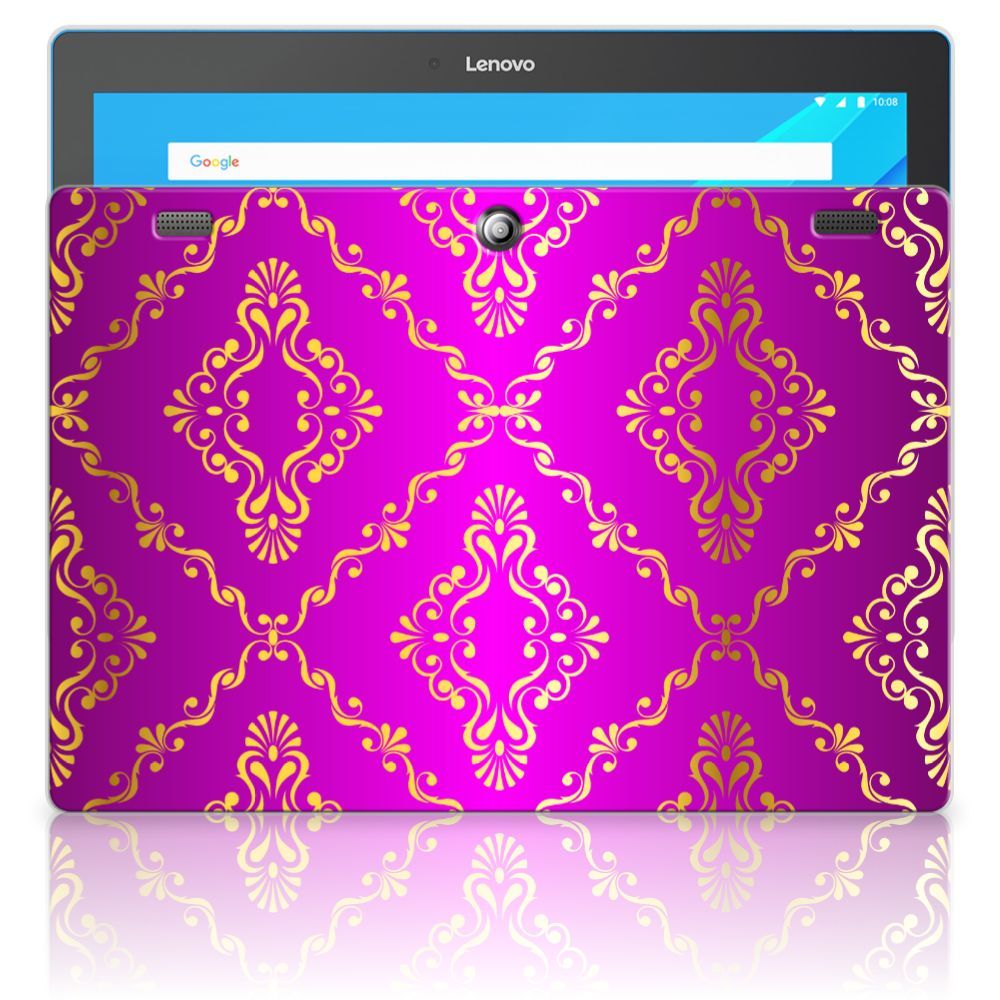 Lenovo Tab 10 | Tab 2 A10-30 Uniek Tablethoesje Barok Roze
