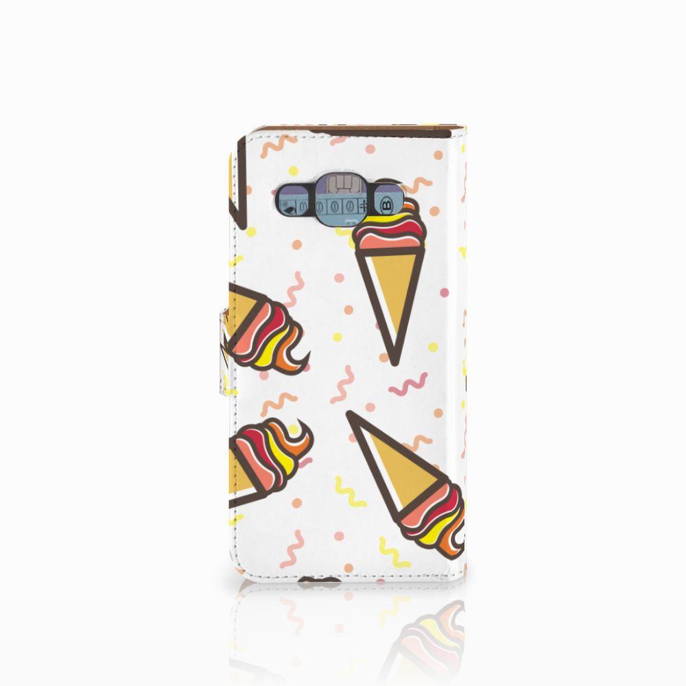 Samsung Galaxy E5 Book Cover Icecream