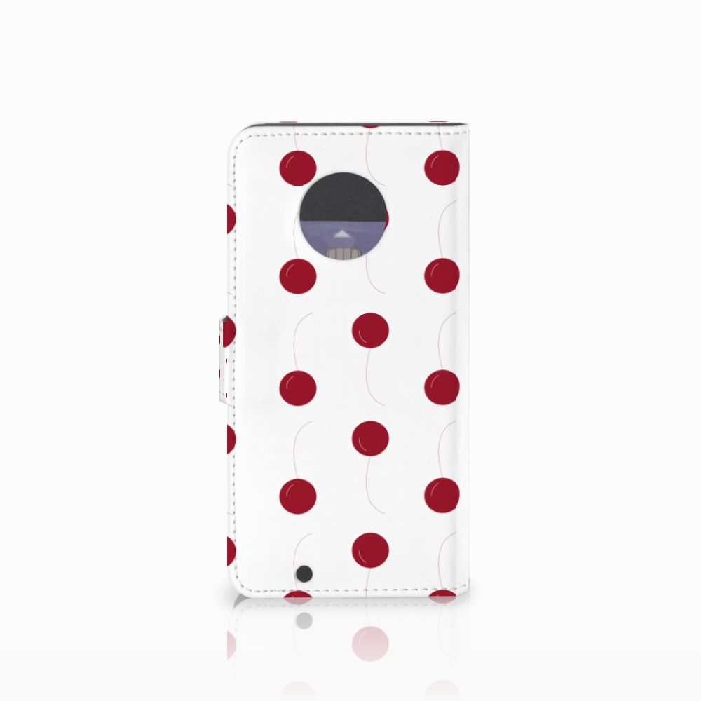 Motorola Moto G6 Book Cover Cherries