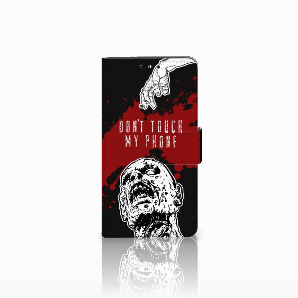 Huawei Y5   Y6 2017 Boekhoesje Design Zombie Blood