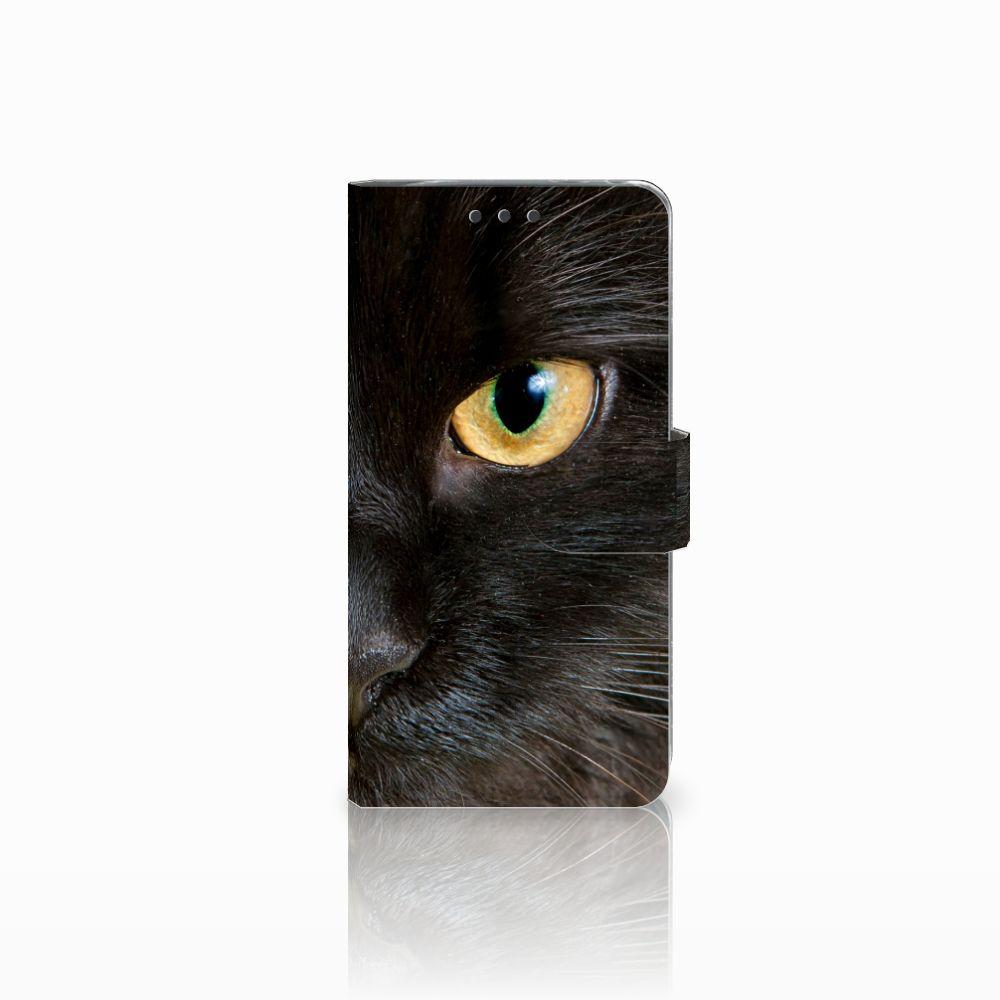 LG G5 Uniek Boekhoesje Zwarte Kat
