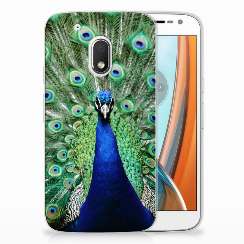 Motorola Moto G4 Play TPU Hoesje Pauw