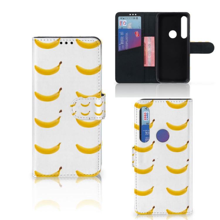Motorola Moto G8 Plus Book Cover Banana