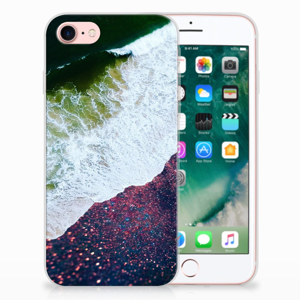 Apple iPhone 7 | 8 TPU Hoesje Design Sea in Space