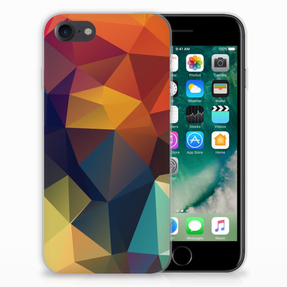 iPhone SE (2020) | 7/8 TPU Hoesje Polygon Color