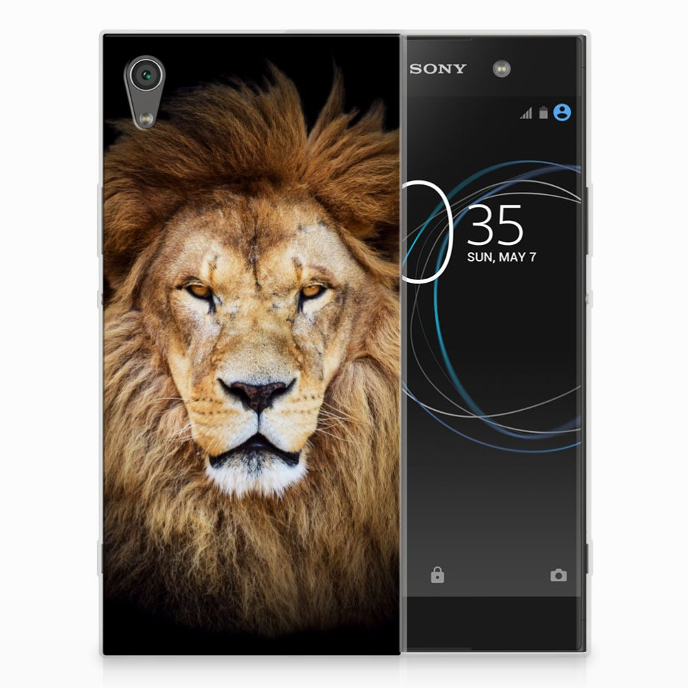 Sony Xperia XA1 Ultra TPU Hoesje Design Leeuw