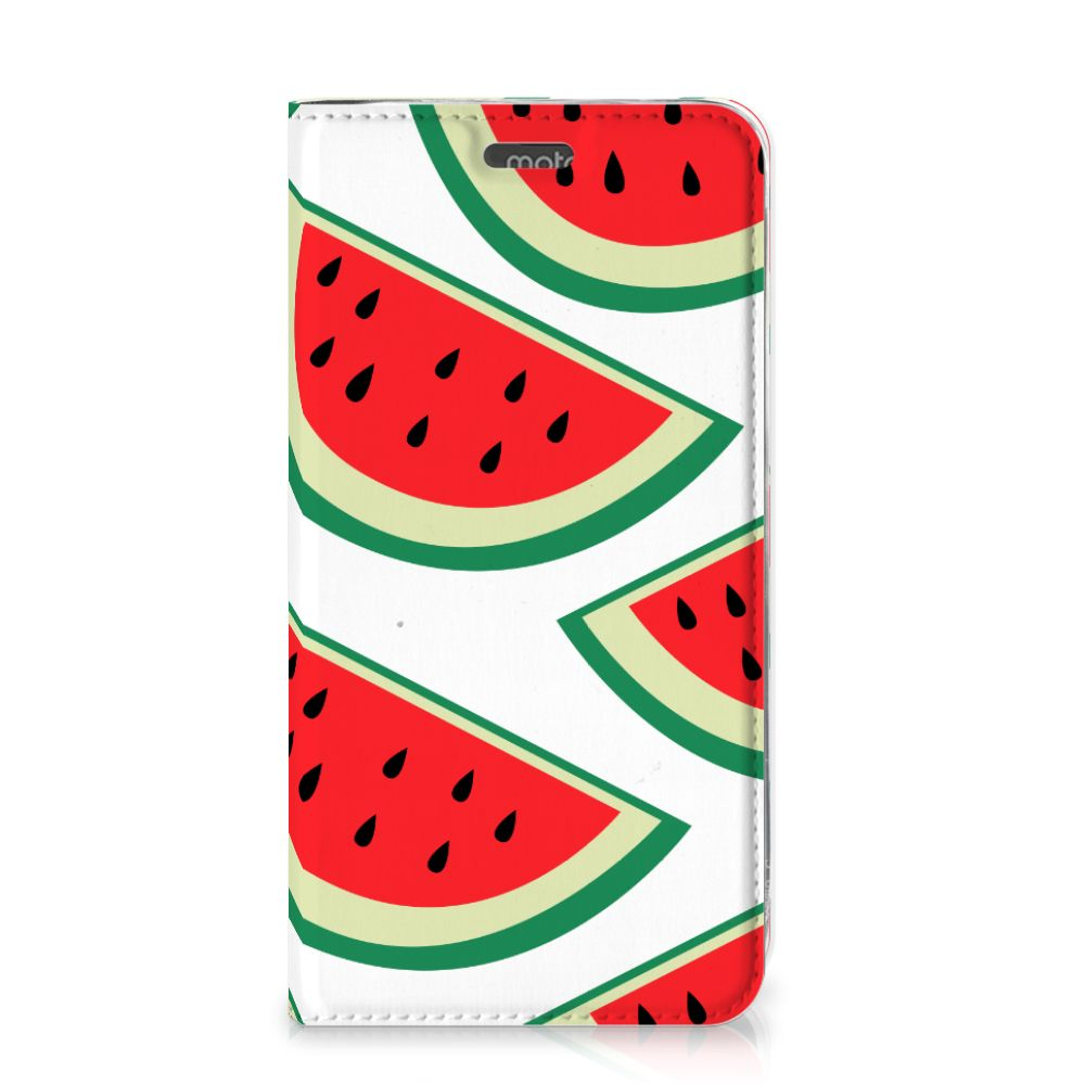 Motorola Moto G5S Flip Style Cover Watermelons