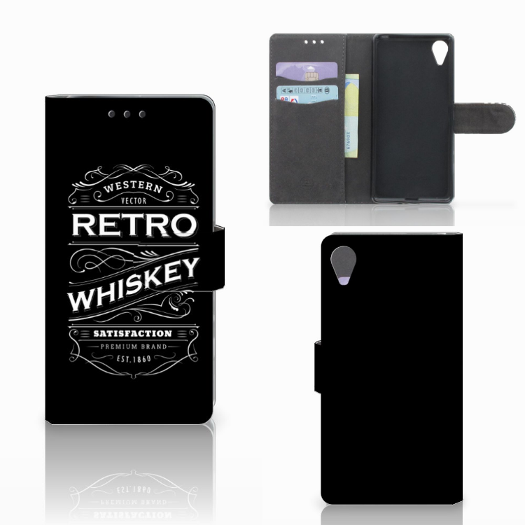 Sony Xperia X Performance Book Cover Whiskey