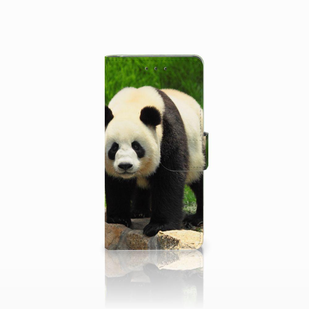 Samsung Galaxy Grand Prime | Grand Prime VE G531F Telefoonhoesje met Pasjes Panda