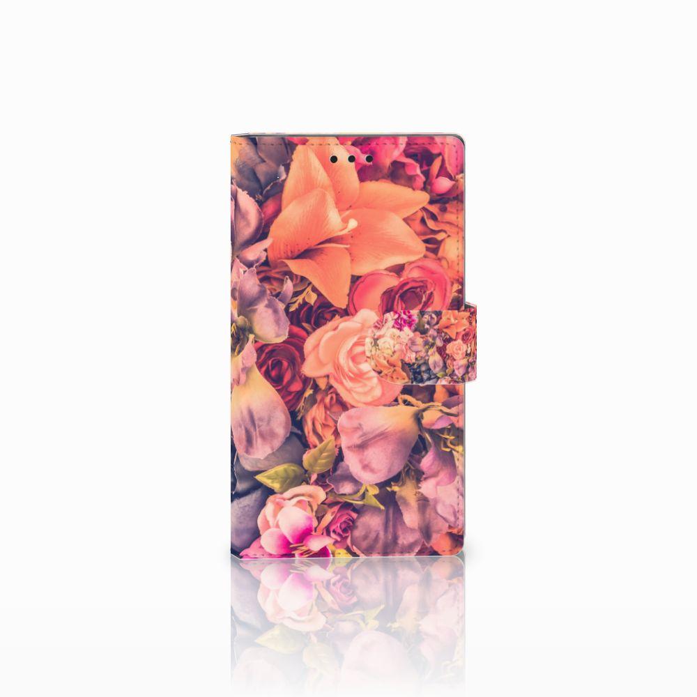 Sony Xperia L2 Boekhoesje Design Bosje Bloemen