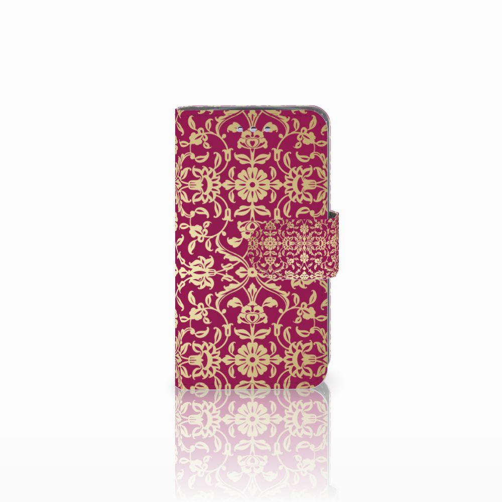 Samsung Galaxy S3 Mini Boekhoesje Design Barok Pink