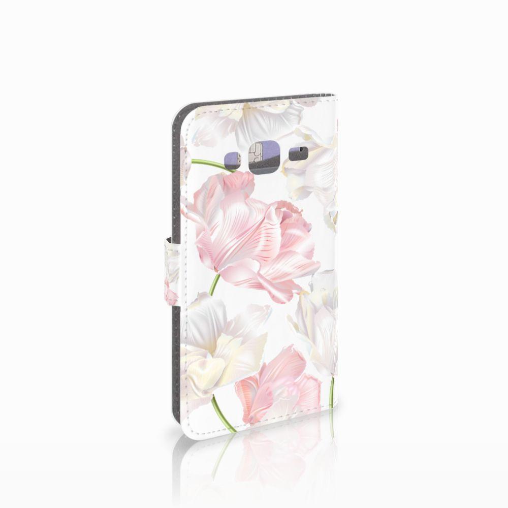 Samsung Galaxy J3 2016 Boekhoesje Design Lovely Flowers