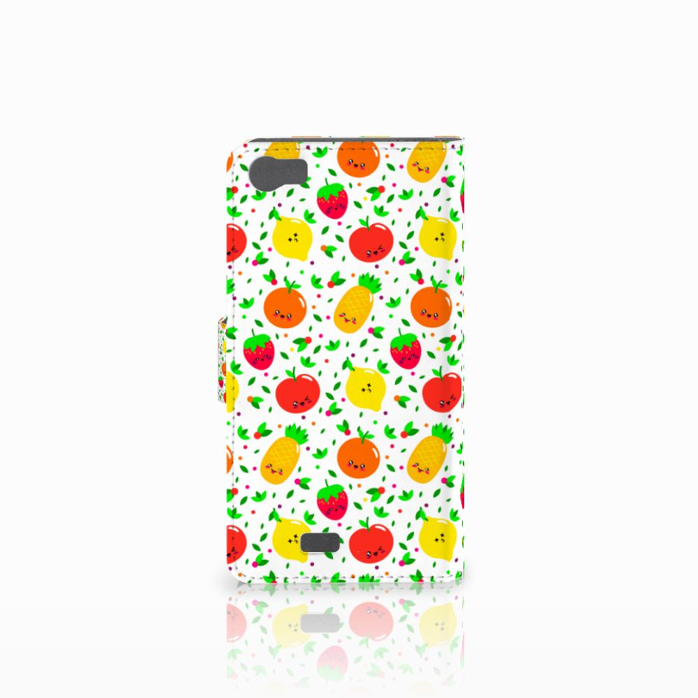 Wiko Lenny Book Cover Fruits