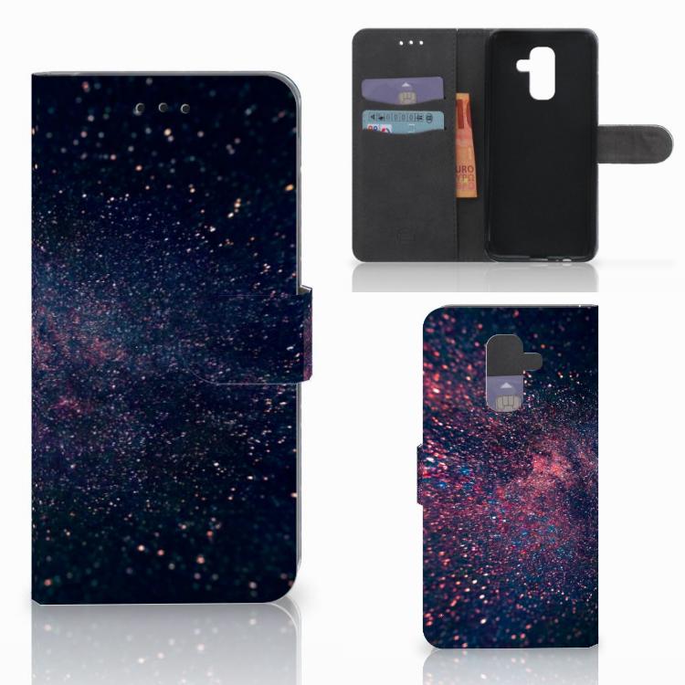 Samsung Galaxy A6 Plus 2018 Bookcase Stars