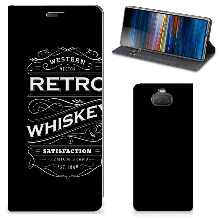 Sony Xperia 10 Flip Style Cover Whiskey