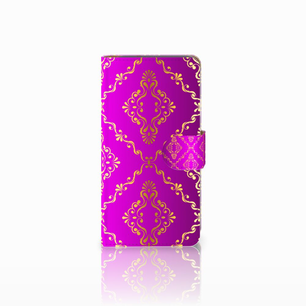 Wallet Case Google Pixel Barok Roze
