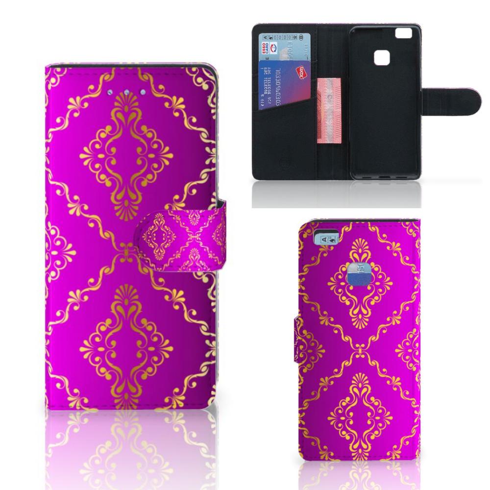 Wallet Case Huawei P9 Lite Barok Roze