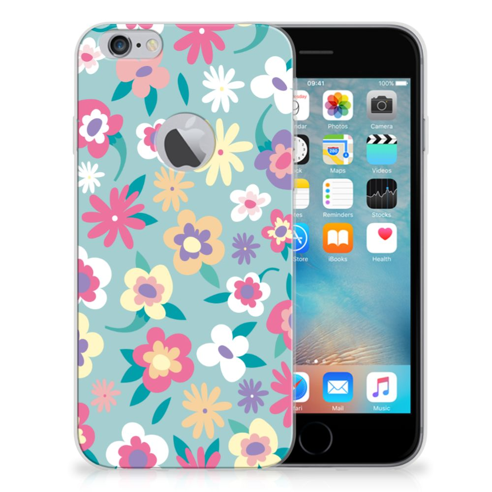 Apple iPhone 6 Plus | 6s Plus TPU Case Flower Power