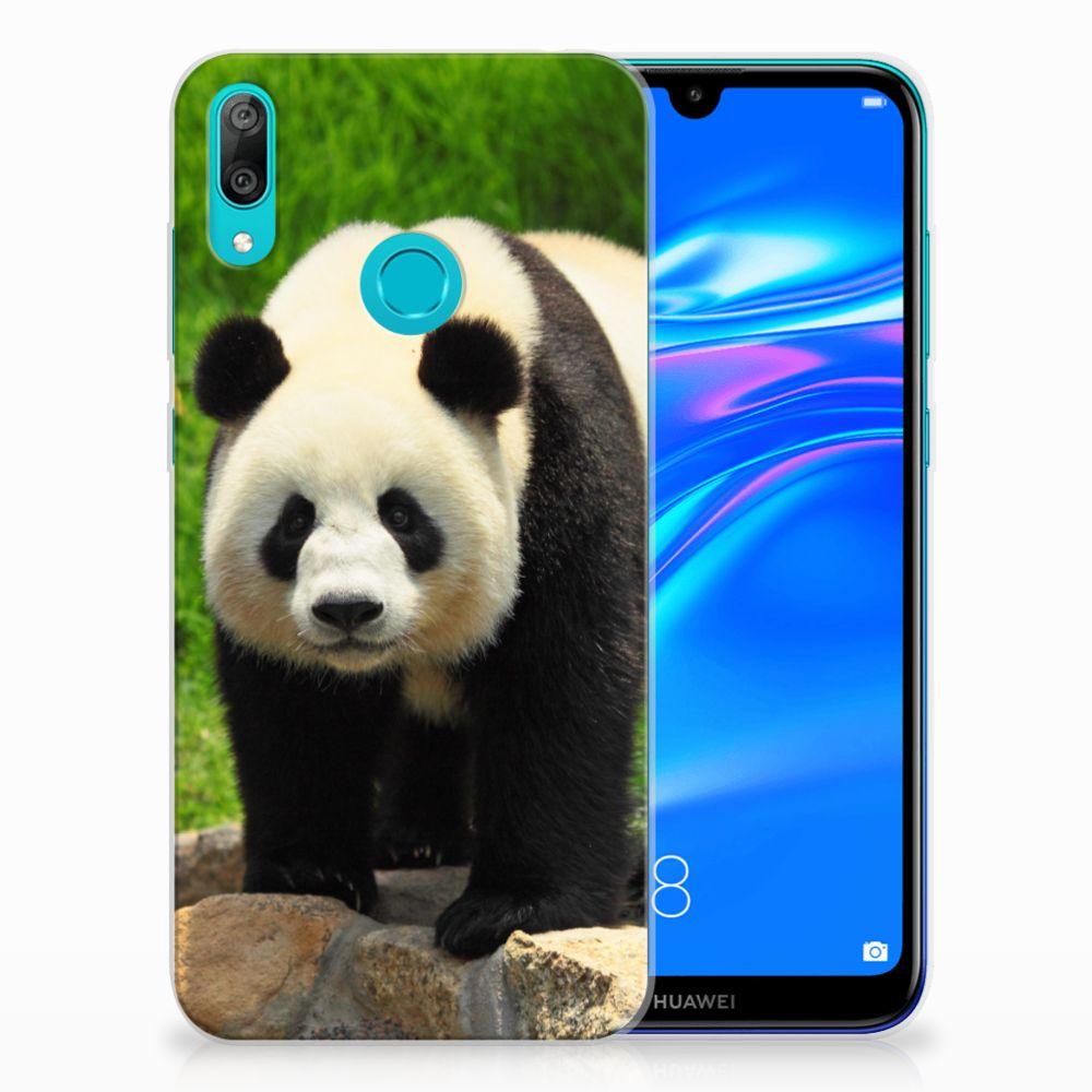 Huawei Y7 2019 TPU Hoesje Panda