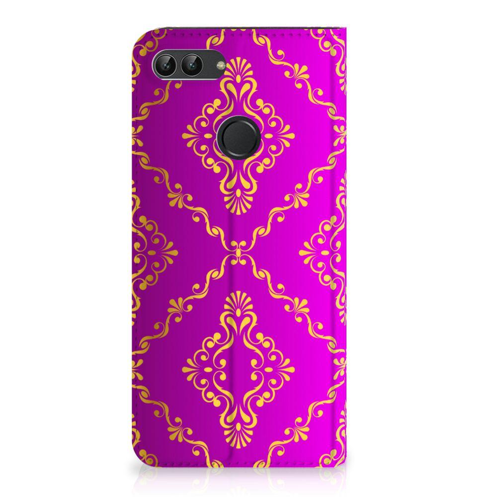 Telefoon Hoesje Huawei P Smart Barok Roze