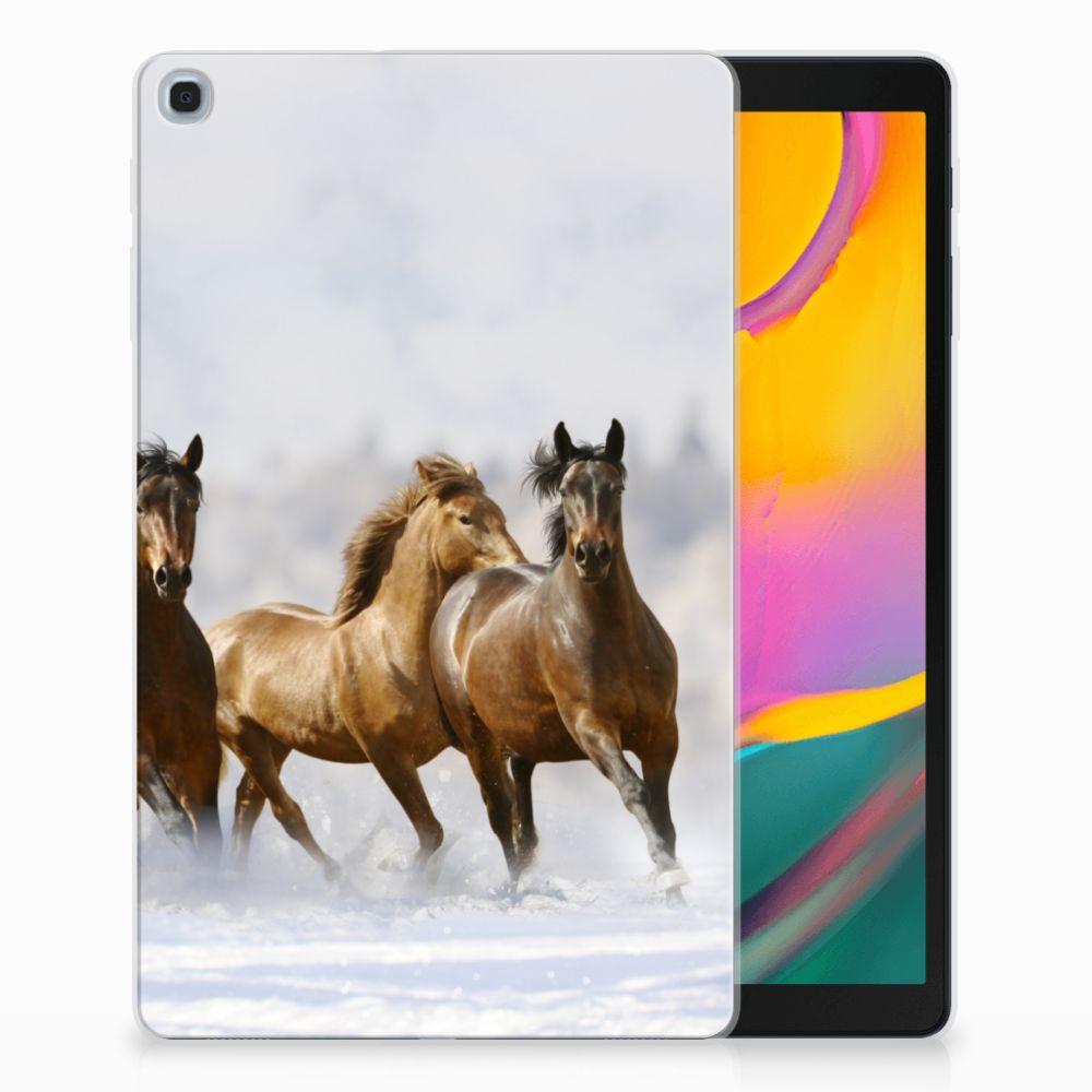 Samsung Galaxy Tab A 10.1 (2019) Uniek Tablethoesje Paarden
