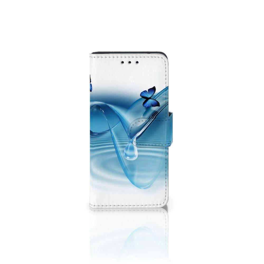 Samsung Galaxy S5 Mini Telefoonhoesje met Pasjes Vlinders