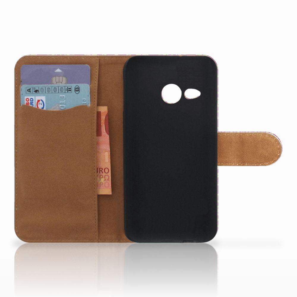 Wallet Case HTC One Mini 2 Barok Pink