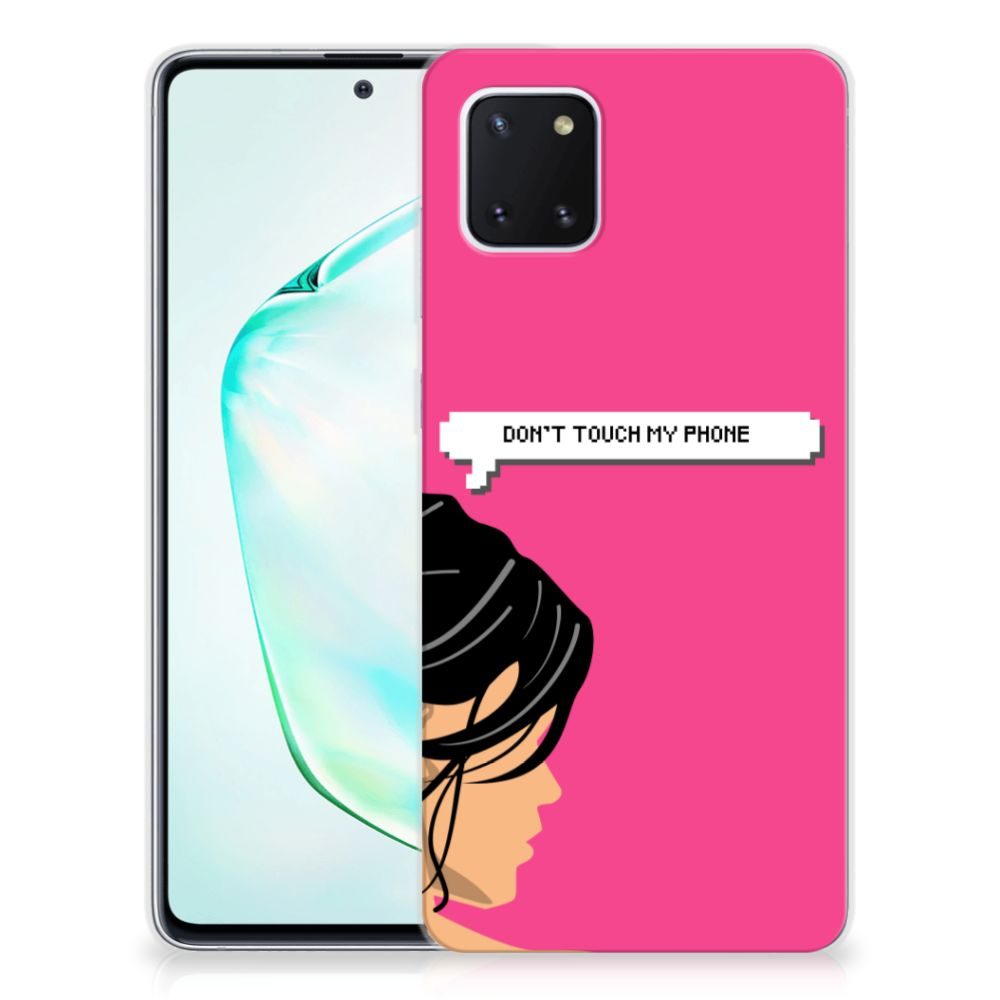 Samsung Galaxy Note 10 Lite Silicone-hoesje Woman DTMP