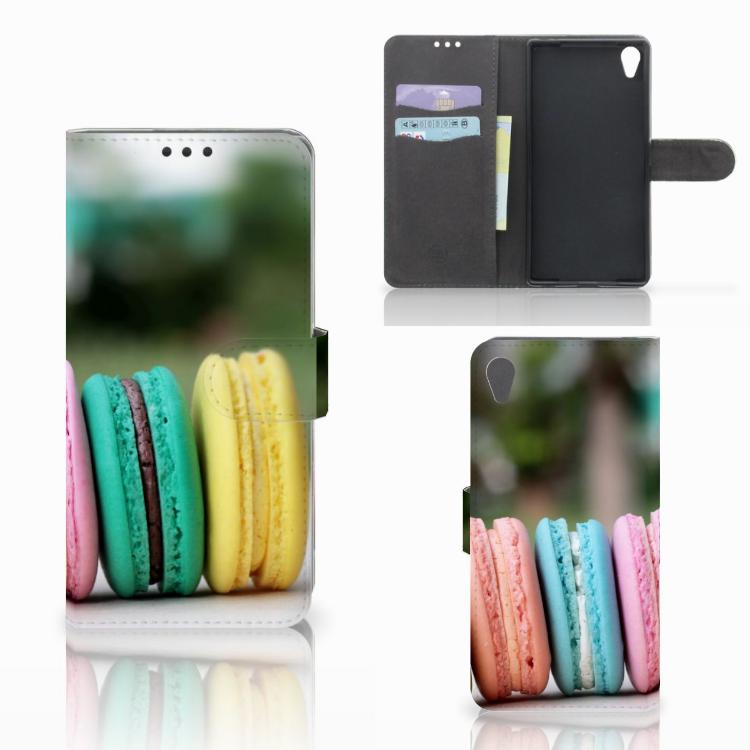 Sony Xperia Z5 Premium Book Cover Macarons