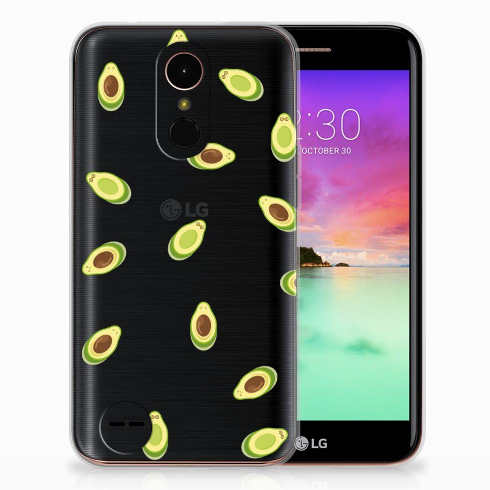 LG K10 2017 Siliconen Case Avocado