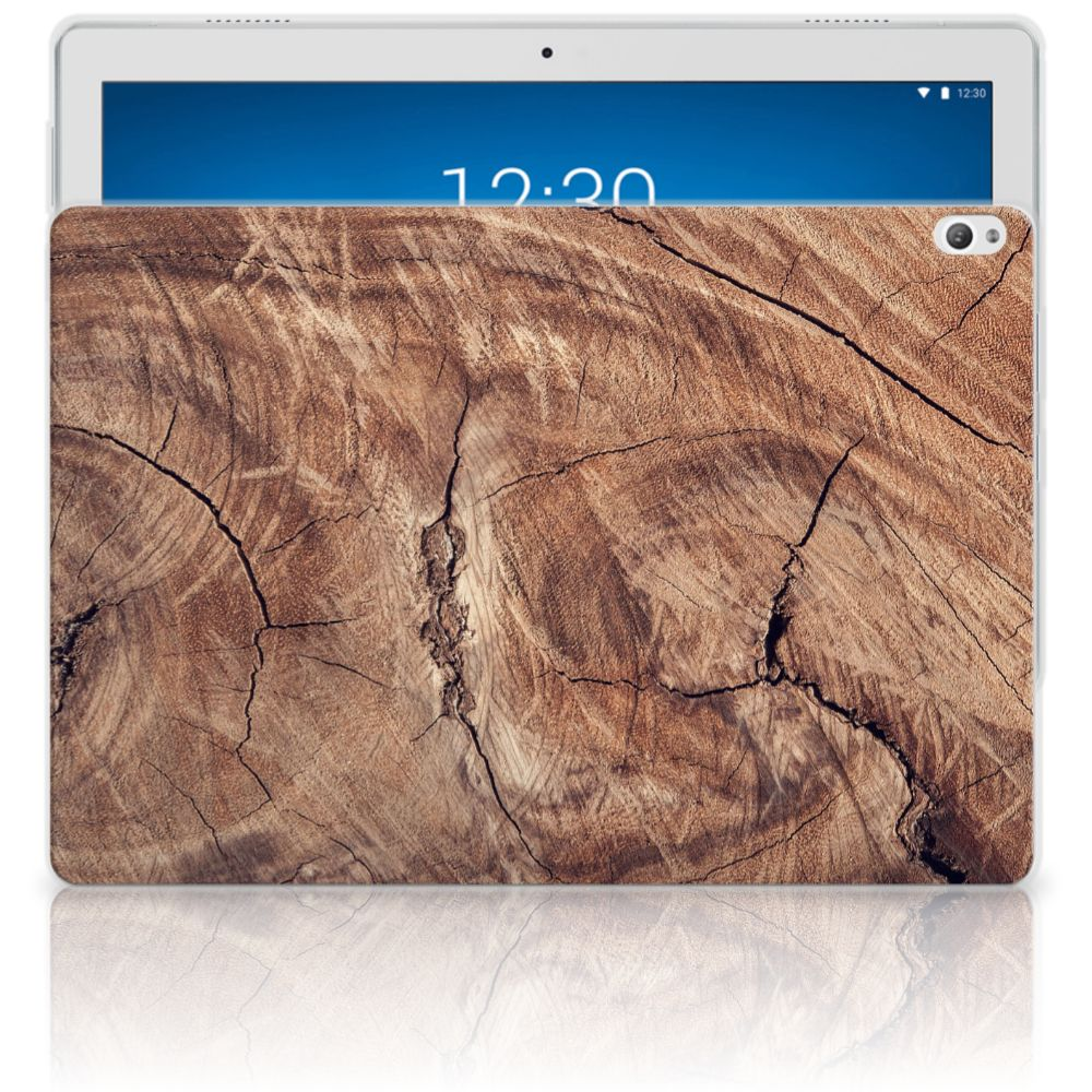 Lenovo Tab P10 Silicone Tablet Hoes Tree Trunk