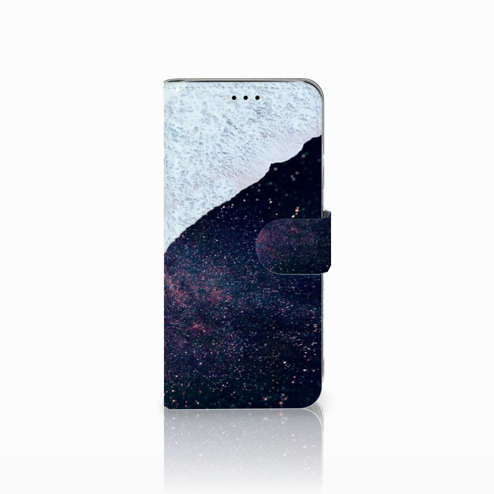 Samsung Galaxy A6 2018 Boekhoesje Design Sea in Space