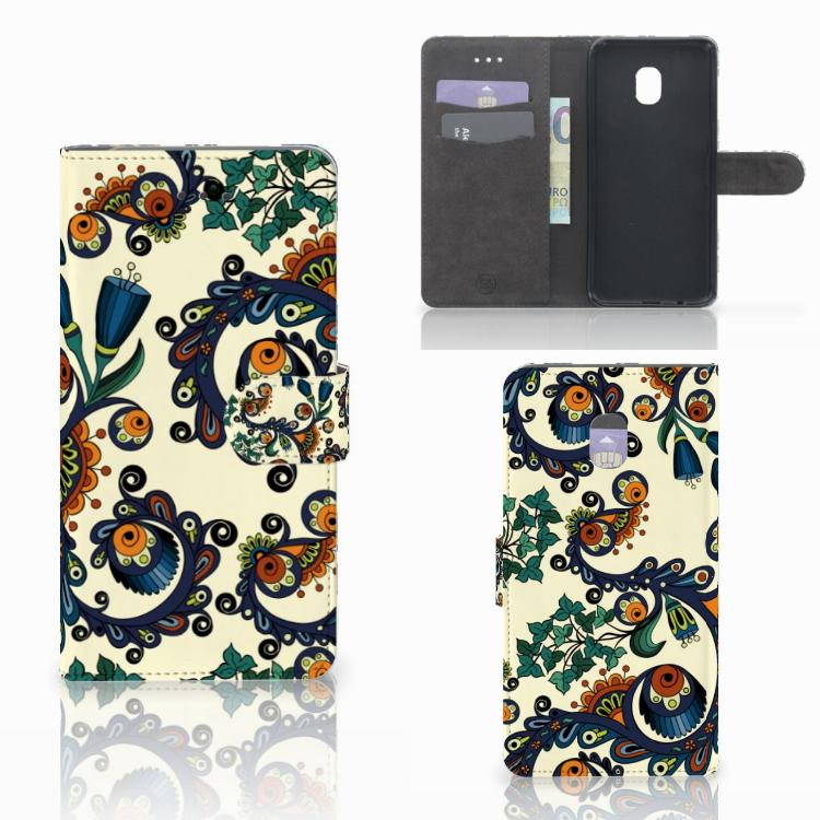 Wallet Case Samsung Galaxy J7 (2018) Barok Flower