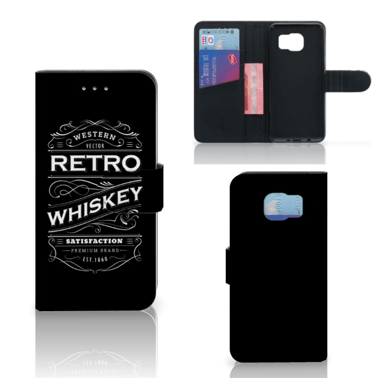 Samsung Galaxy S6 | S6 Duos Book Cover Whiskey